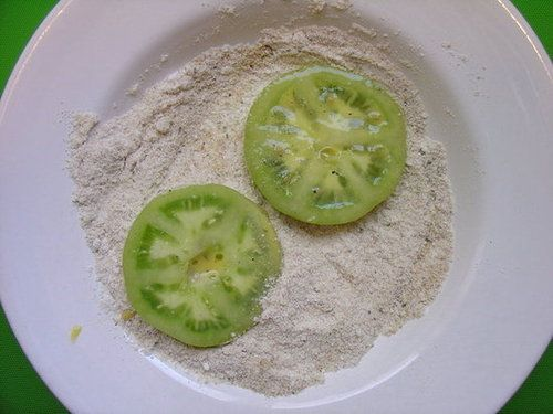 My Green Heaven, Continued: Fried Green Tomato Parmesan