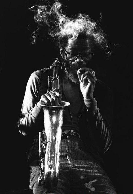 """karamazove: """"Joe Henderson by Von Rainer Alexander, 1980. """""""