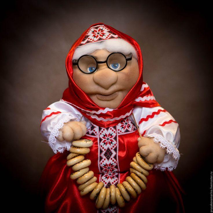 Купить Баба на самовар - Баба на чайник, баба на самовар, подарок, интерьерная кукла, текстильная кукла