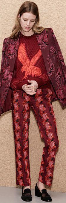 Stella McCartney Pre-Fall 2013  #marsala #pantone