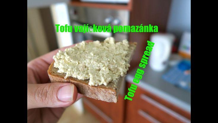 Tofu vajíčková pomazánka | Tofu egg spread | Vegan | Vegabund
