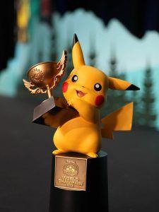 Pokemon World Champion Trophy