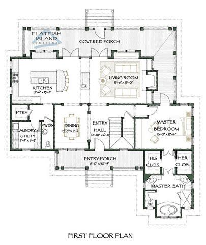 Tugaloo Breeze First Floor Plan Inside Pinterest