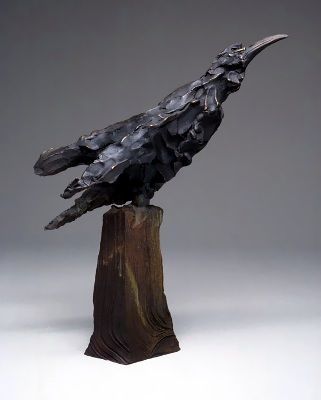 Frank Boyden..........I LOVE CROWS AND RAVENS