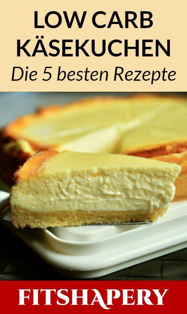 Diese Low Carb Käsekuchen sind bestens zum Abnehmen geeignet, da sie zuckerfrei sind …