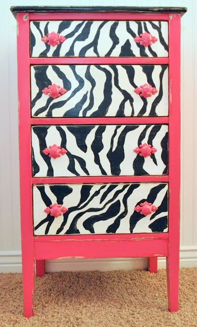 upcycle dresser but with turquoise... i will be doing purple & zebra print...