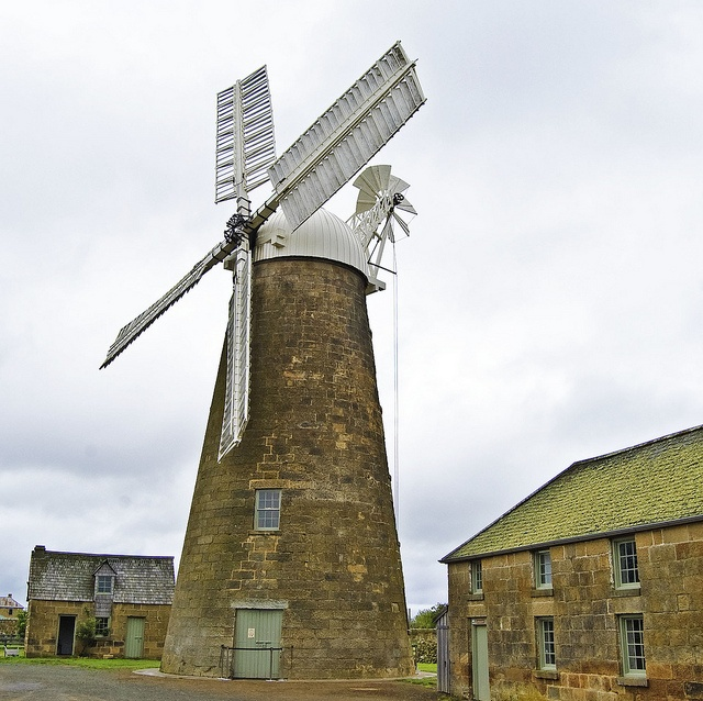 Callington Mill, Oatlands Tasmania.Australia  Built 1837 - Restored 2010