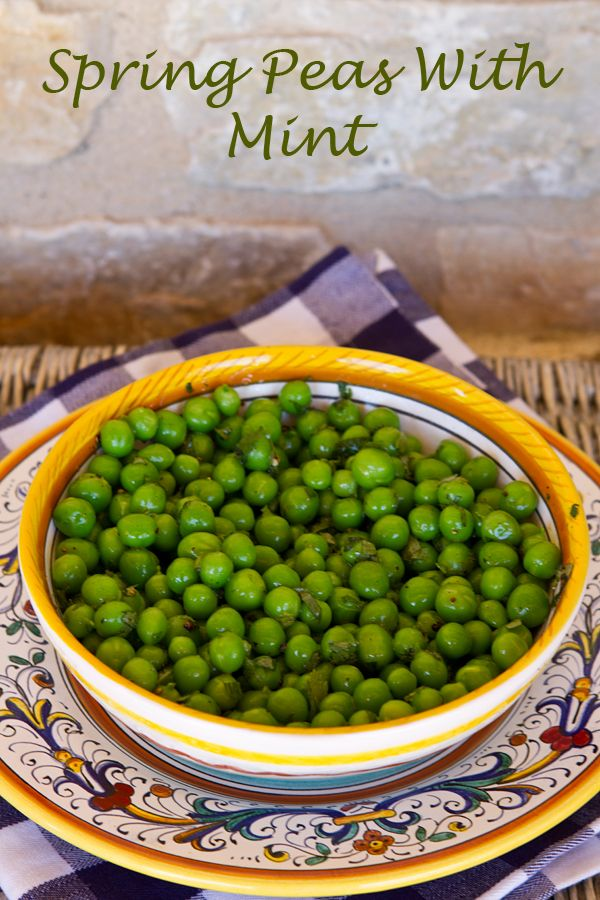 Spring Peas With Mint