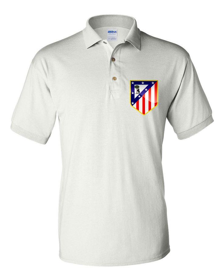 Polo Soccer T-shirt Athletico Madrid