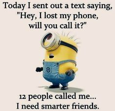 I need smarter #friends..... :)