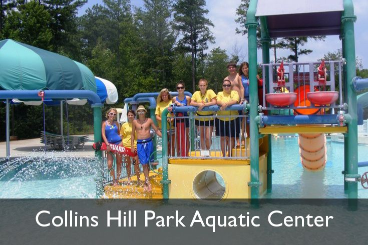 17 best images about aquatic centers at my great parks on for Collins hill