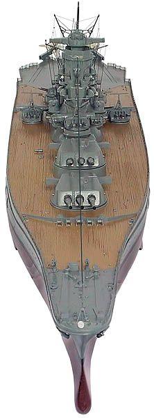 Yamato Class Battleships: IJN Yamato and Musashi - custom wood ship models