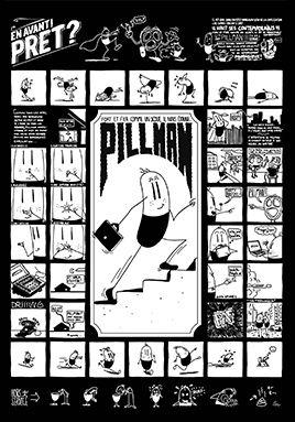 Pillman by Jean-Michel Tixier — Agent Pekka