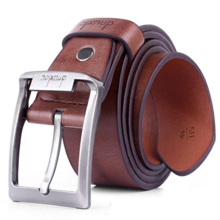 Men Luxury Casual Leather Belt