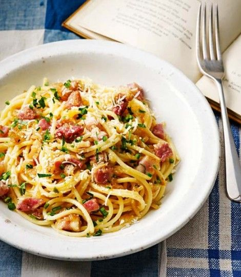 Heston Blumenthal's carbonara