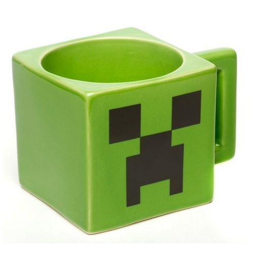 Creeper Minecraft Mug / hrnek