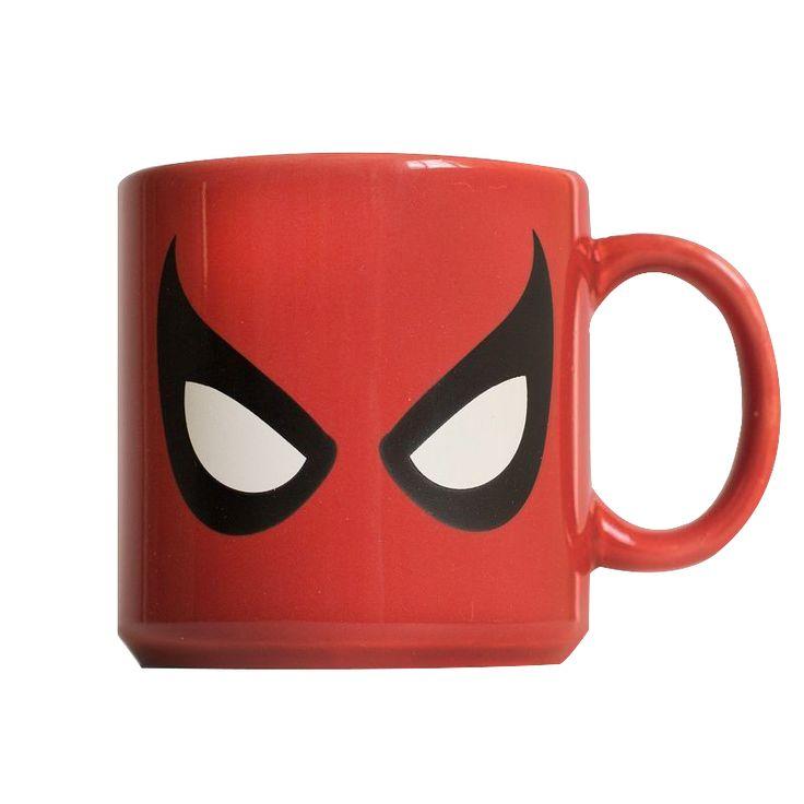 (Loja Mundo Geek) Caneca Personalizada Homem Aranha Mascara - R$29,90