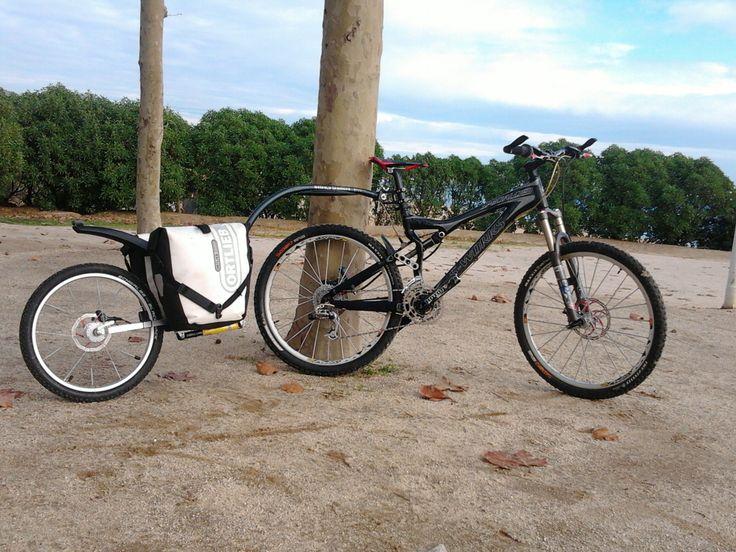 beteteros trailers Evo 2 Full suspension/DISC ( equipado con amortiguador y sistema hidraulico de frenado)