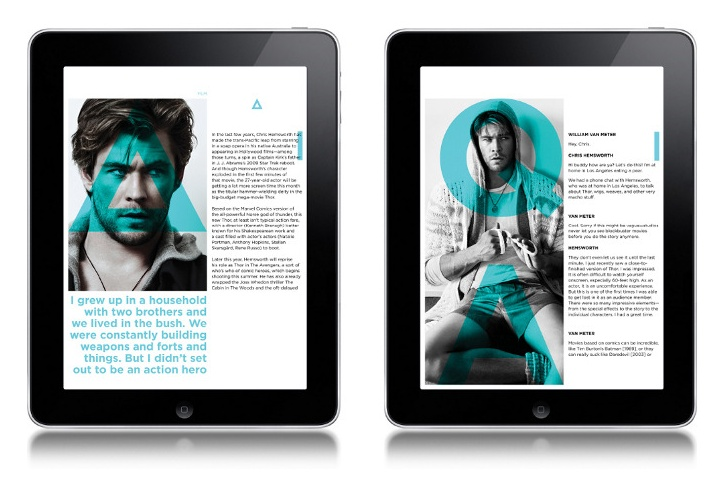 ipad magazine andy connolly