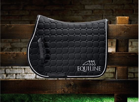 Equiline Octagon Saddlepad With Embroidered Logo