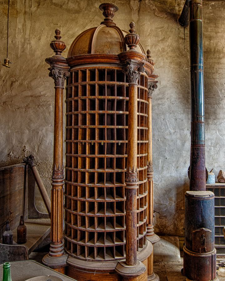No Mail - Group Mailbox, Dechambeau Hotel, Bodie State Historic Park, Bodie, California