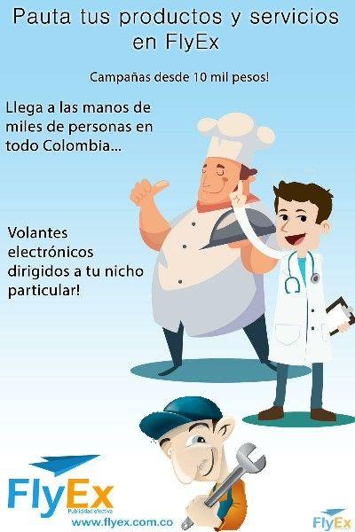 Publicidad Desde 10mil pesos