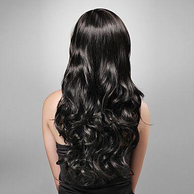 long wavy hair back view nails hair amp makeup pinterest