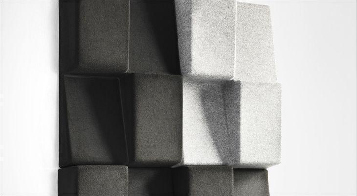 Window acoustic partition and room divider. Akustisk skillevæg og rumdeler.