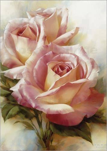 Beautiful roses... ✿ Artist: Igor Levashov