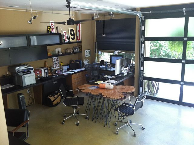 Best ideas about garage office on pinterest work from