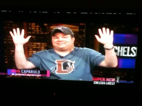 "Comedian John Caparulo on ""Chelsea Lately"""