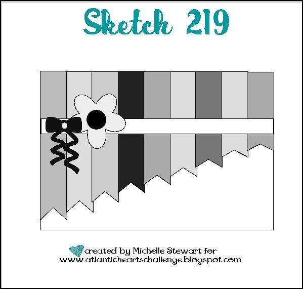 A weekly sketch challenge blog hosted by Atlantic Canadian Michelle Stewart. Sketch #219