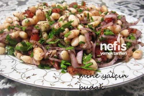 Kuru Fasulye Salatası Tarifi