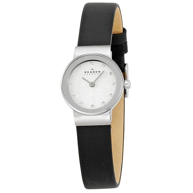 Skagen - Ladies' Ultra Slim Watch in Chrome and Black