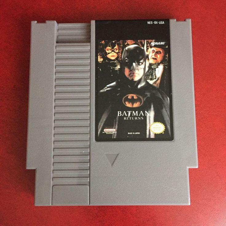 Batman Returns (Nintendo Entertainment System, 1993) NES Video Game + Sleeve 83717110323 | eBay