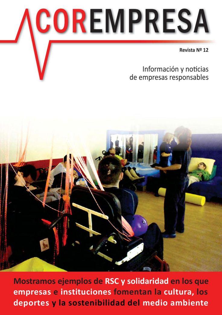 Corempresa Nº 12  Revista sobre mecenazgo, filantropía, patrocinio y responsabilidad empresarial