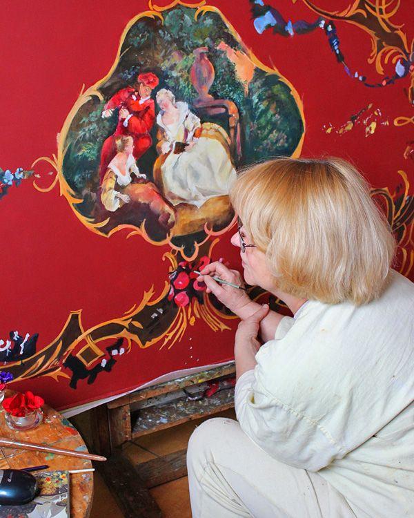 C. Bechstein Louis XV: Über drei Jahre wurde bei Bechstein am Gold-Flügel gearbeitet – mit kunsthandwerklichen Fähigkeiten, die heute kaum noch jemand beherrscht.