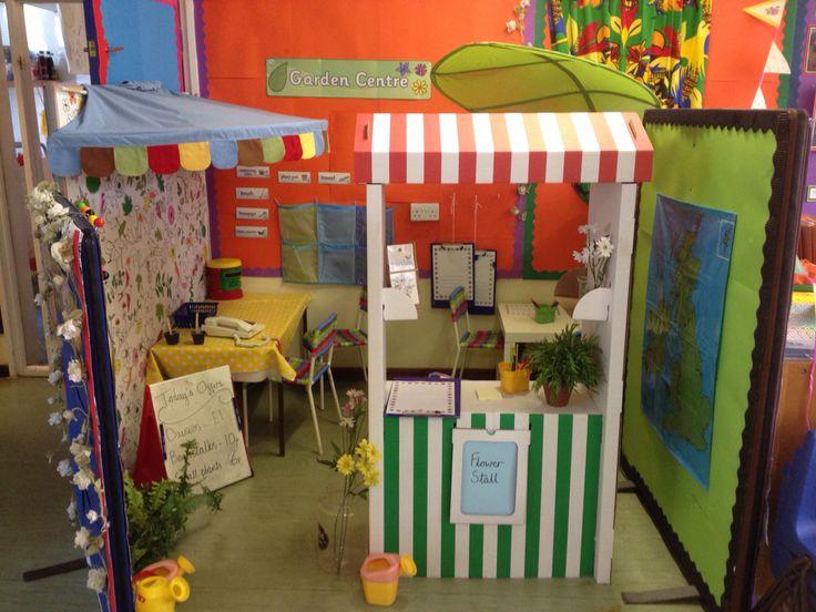 garden centre reception role play area school ideas