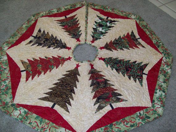290 best Christmas Tree Skirts images on Pinterest Xmas Christmas
