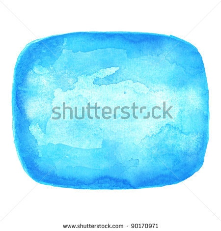 All my aquarelle drawings http://www.shutterstock.com/sets/16601-watercolor-painting.html?rid=498844 — Watercolor blue blank rounded rectangle shape on white background — Keywords: balloon bubble cerulean clean clear cobalt communication cyan dialog discussion empty forum label message paint paintbrush painting rectangle speak speech sticker talking technique template text texture think unoccupied vacant watercolour workpiece — #Royalty #free #stock #photo #illustration for $0.28 per…