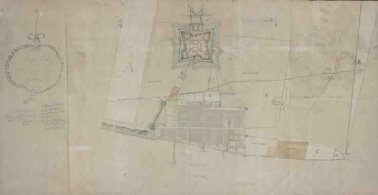 Found: A Hand-Drawn Map of Detroit from 1790 | Atlas Obscura