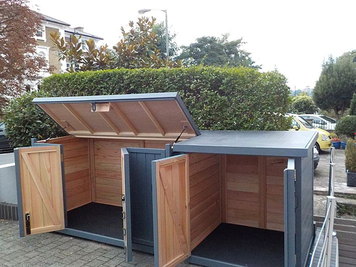 shed storage sheds bin storage ideas storage solutions bin shed ...