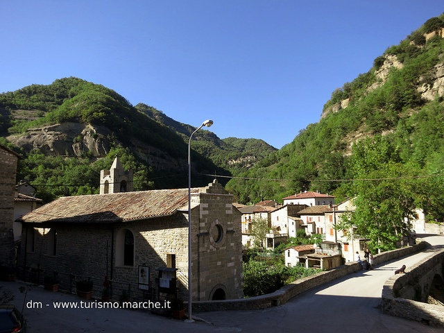 Quintodecimo, Church of Blessed Virgin of The Plains - Marche, Italy