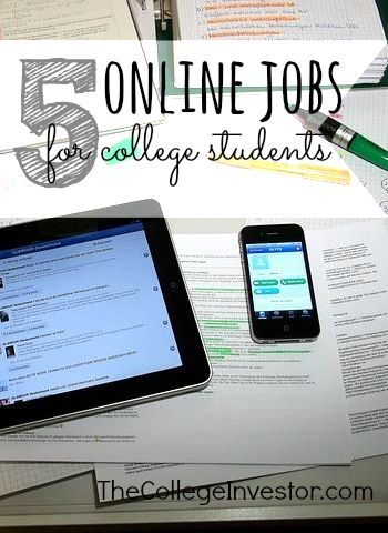 Working through college is important but can be hard to do with a busy schedule. To get you started here are five online jobs for college students. College Tips #college #student best college tips