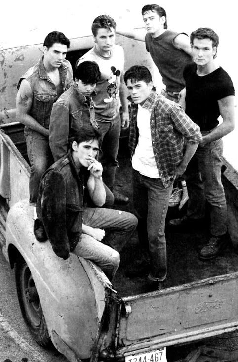 "The Outsiders   love this movie!!  especially ""Dally""  Matt Dillon was such a bad ass****"