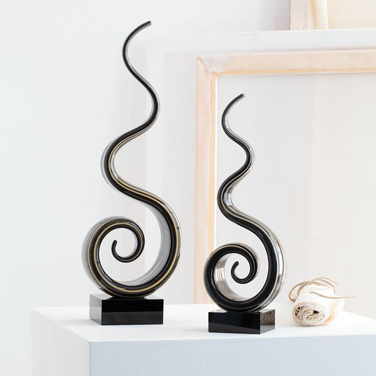 Skulptur Twist - 35 cm