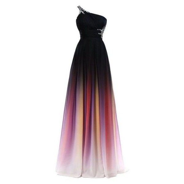 Colorful prom dresses ❤ liked on Polyvore featuring dresses, multi coloured prom dress, colorful dresses, multi colored prom dresses, colorful prom dresses and multicolored dress