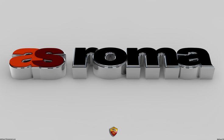 A.S. Roma 3D Wallpaper Clear by http://Belthazor78.deviantart.com on @deviantART Daje Roma Daje
