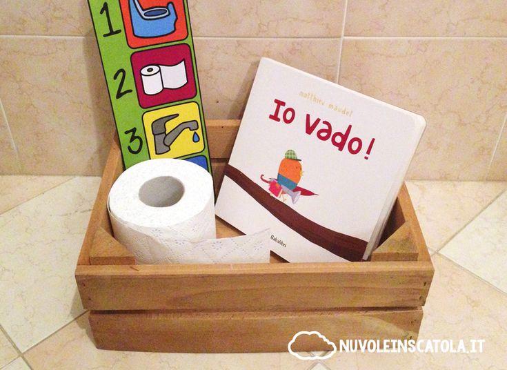 """Buffo, tenero, delizioso: un libro che parla di indipendenza e di vasino (nel post, il pdf stampabile con le """"istruzioni"""" per usare il vasino)."""