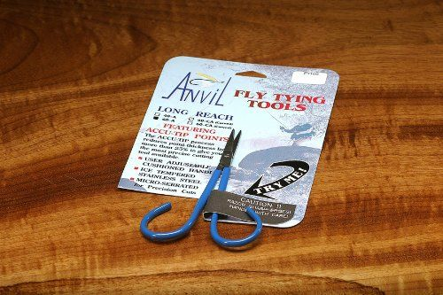 Anvil's Straight Fine Point Scissors ÉFly Tying Tools *** Click on the image for additional details.